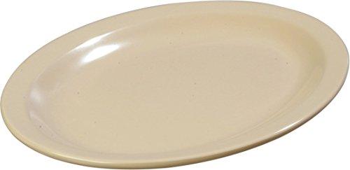 Carlisle KL12725 Kingline Melamine Oval Platter 1199 x 898 x 120 Tan Case of 12