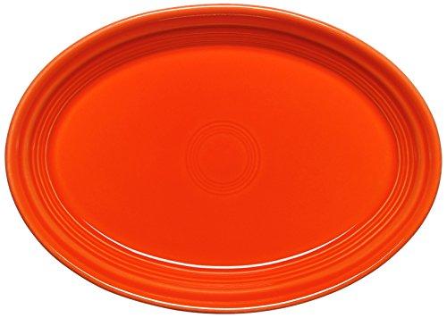 Fiesta Oval Platter 9-58-Inch Poppy