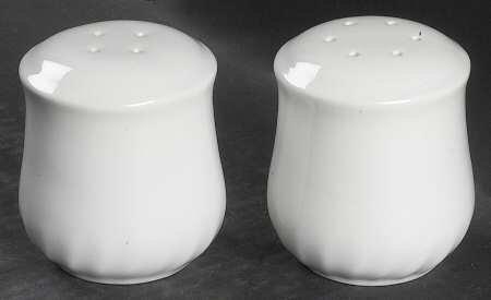 Corning Enhancements CoordinatesStoneware Salt Pepper Set Fine China Dinnerware