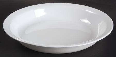 Corning Winter Frost White PieBaking Plate Fine China Dinnerware