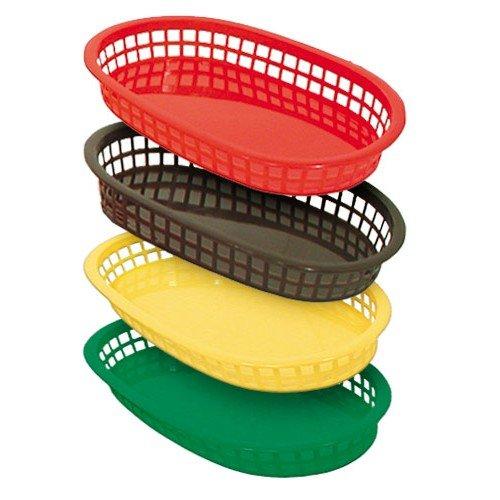 Fast Food Platter Baskets - Dozen Pack - BrownBB107B