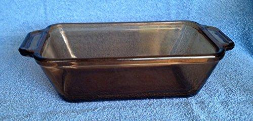 Anchor Hocking 15 Qt Amber Glass Loaf Dish Baking Pan