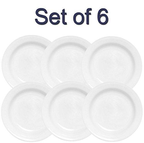 Corelle Livingware 15-Ounce Rimmed SoupSalad Bowl Winter Frost White 6