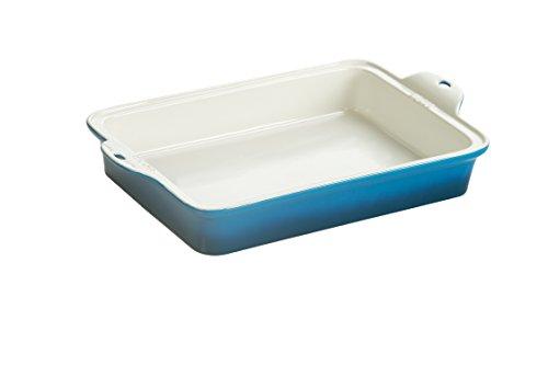 Lodge STW13RCT33 Stoneware Baking Dish 9 x 13 Blue