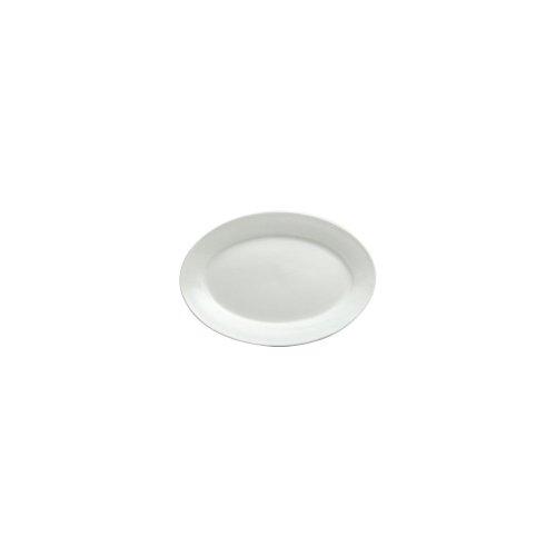 Buffalo R4130000344 Bright White Ware 9-58 In Oval Platter - 24  CS