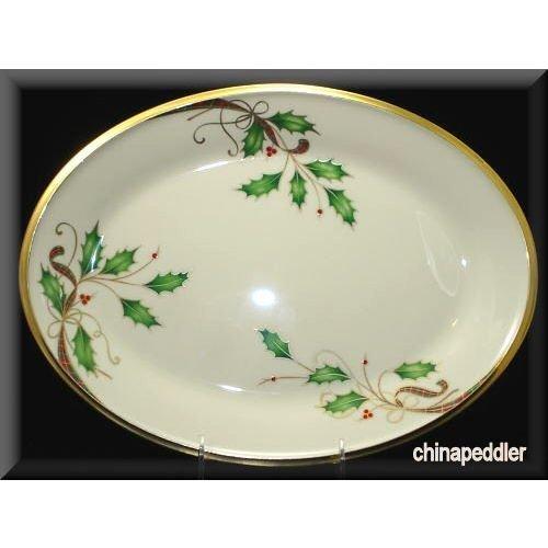 Lenox Holiday Nouveau White Platter 130