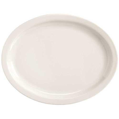 World Tableware Tenacity Narrow Rim Bright White Platter 115 inch -- 12 per case