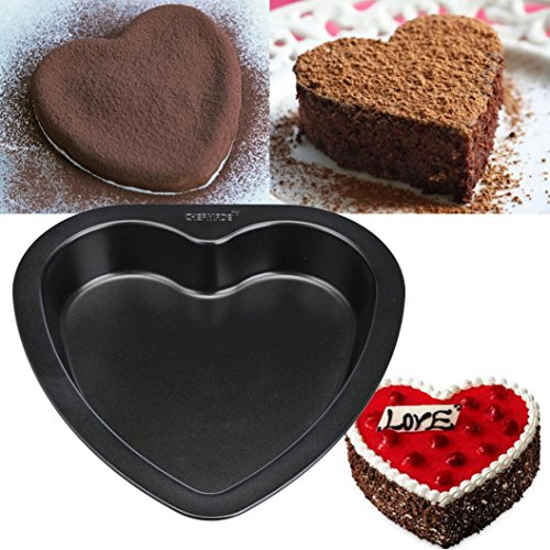 GreatFun Premium Heart-shaped Cake Mold Baking Carbon Fine Quality Kitchen Cooking Tool