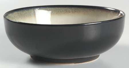Sango Nova Black Dinnerware Cereal  Soup Bowl