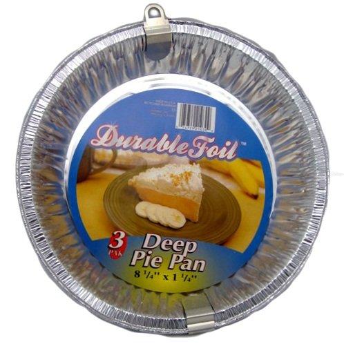 Wholesale D Foil Deep Pie Pan 3pk