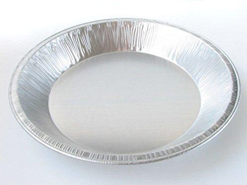 9 Heavy Duty Foil Pie Pans- 1 12 Deep- Disposable or Reusable 509 10