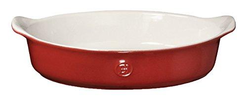 Emile Henry 369029 HR Ceramic Individual Oval Baker Rouge