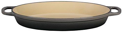 Le Creuset Enameled Cast Iron Signature 3QT Oval Baker - Oyster