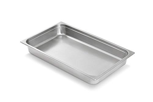 Artisan Stainless Steel Steam Table Chafer Pan Full-Size 8-Quart Capacity