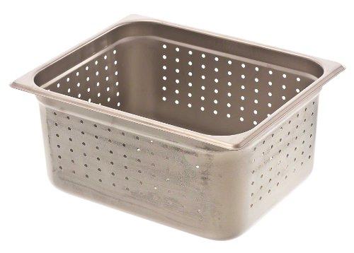 Browne 22126P 6 Half-Size Anti-Jam Perforated Steam Table Pan