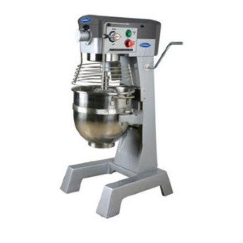 General Commercial Planetary Mixer 30 Quart 3 Speed Gear Drive 2 Hp Motor 120V Model Gem130