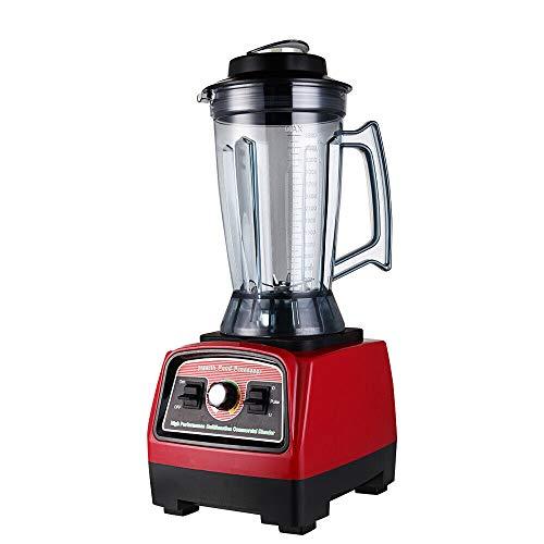 Dyrabrest 2 IN 1 High Speed Countertop Blender Mixer Juicer Food Fruit Processor Machine 39L 2800W