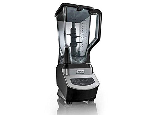 Ninja 1000 Watts Blender SilverBlack 72 Oz Certified Refurbished