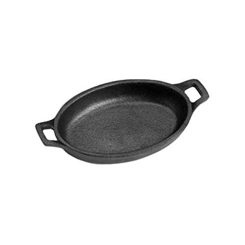 Tomlinson 1023653 Cast Iron 12 Oz Oval Sizzle Platter