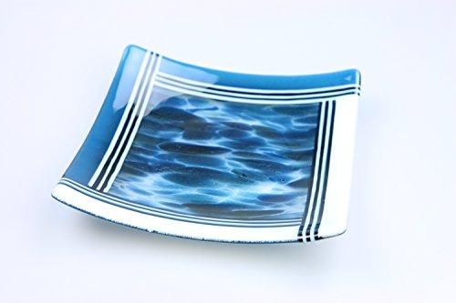 Art Glass Serving Dish