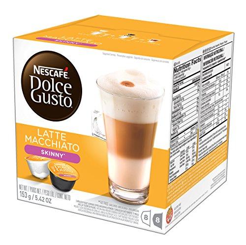 Nescafe - Dolce Gusto - Latte Macchiato Coffee Pods 8 Drinks - 1944g Case of 3