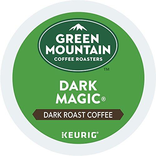 Green Mountain Coffee Roasters Dark Magic Keurig Single-Serve K-Cup Pods Dark Roast Coffee 72 Count 6 Boxes of 12 Pods
