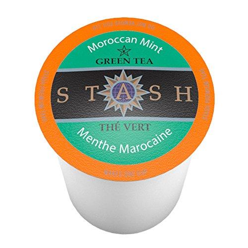 Stash Tea Moroccan Mint Single-Cup Tea for Keurig K-Cup Brewers 40 Count