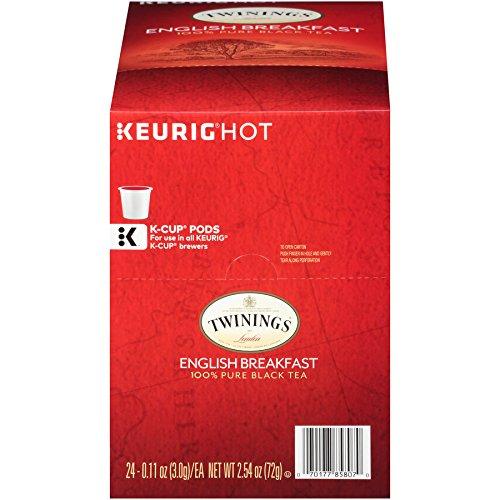 Twinings English Breakfast Tea Keurig K-Cups 48 Count