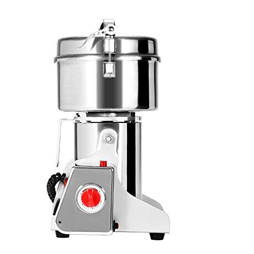 BestEquip 500g Electric Grain Grinder High Speed Swing Type Grain Grinder Machine 2300W Powder Machine for Grinding Various Grains Spice 500g