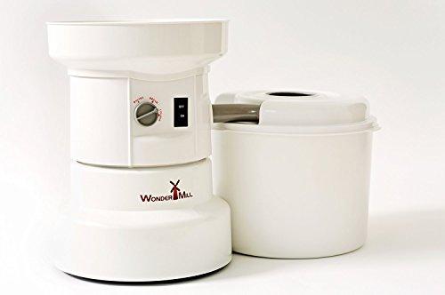 WonderMill Electric Grain Grinder - Grain Mill 110 V