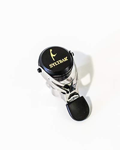 SYLTBAR Prosecco Champagne Bottle Stopper Black