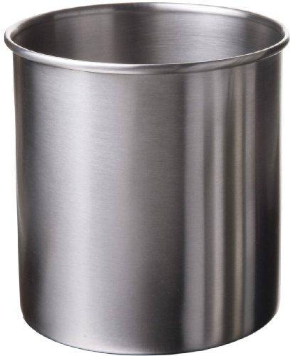 Amco Large Stainless Steel Utensil Crock  4-Quart