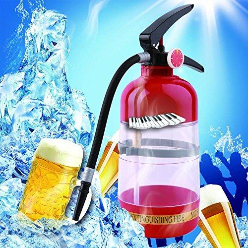 1L Fire Extinguisher Drink Beer Wine Dispenser Pourer Water Beverage Cocktail Pouring Machine