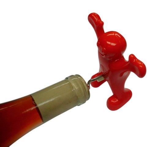 Sir Perky Wine Corkscrew Novelty Gag Gift
