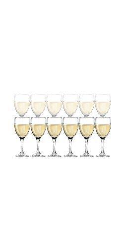 DailywareTM Set of 12 White Wine Glasses 1025 oz by Dailyware