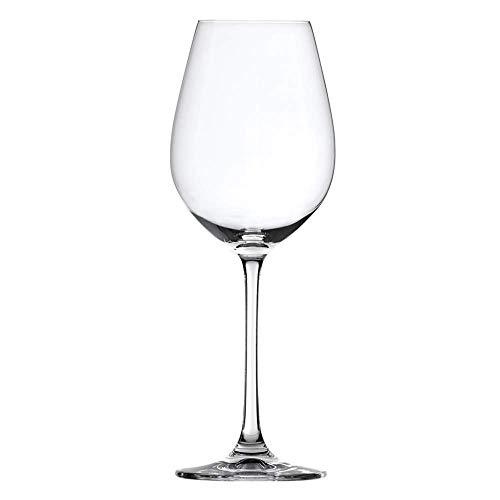 Spiegelau Salute White Wine Glasses - Clear Crystal Set of 4 164 oz capacity each