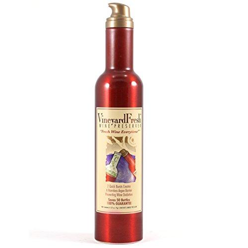 VineyardFresh Retail Sized Wine Preserver Set of 3