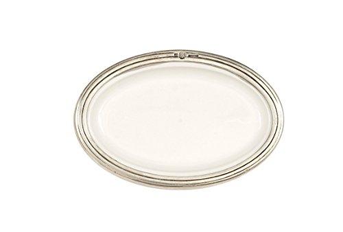 Arte Italica Tuscan Oval Dish Small White