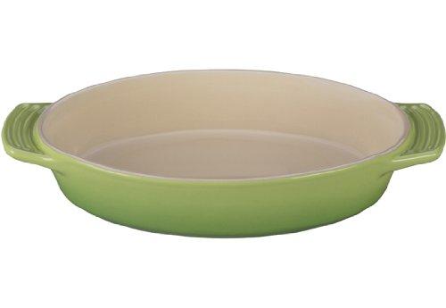 Le Creuset Stoneware Oval Dish 1-34-Quart Palm