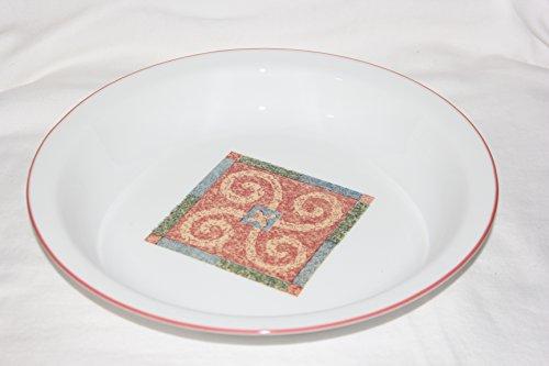 Corning Corelle Sand Art Glass Pie Plate 9 inch