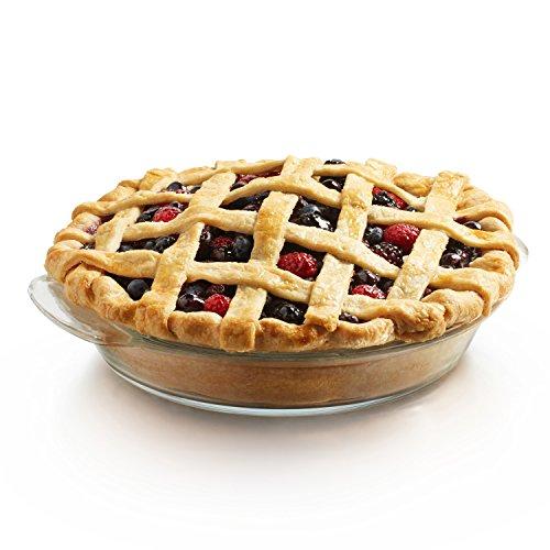 Libbey Bakers Premium 2-piece Glass Deep Pie Plate Set
