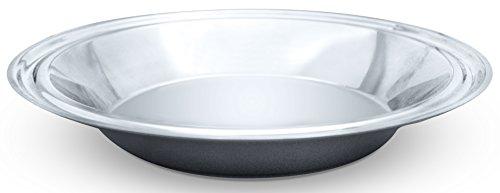 Hammer Stahl 9 Pie Plate Stainless Steel