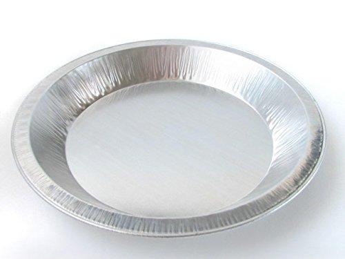 DisposableReusable Heavy Duty Aluminum 9 Pie Pans 922- 24 oz Capacity 25