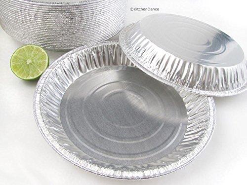 Disposablereusable Aluminum 9 Deep Pie Pan 912 - 28 Oz Capacity 50