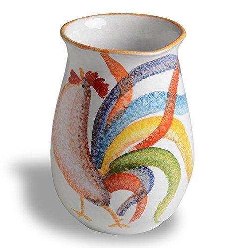 Buongiorno Italian Dinnerware - Utensil Jar - Handmade in Italy