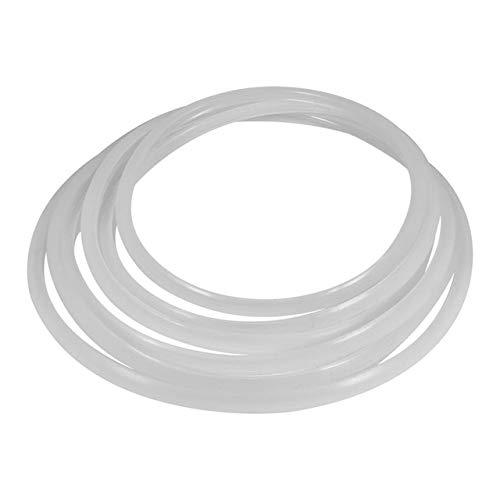 Fiesta Pressure Gasket Inner Diameter 6 Sizes Kitchen Pressure Cookers White Rubber Gasket Sealing Ring Home For Pressure Cooker Seals White 24cm