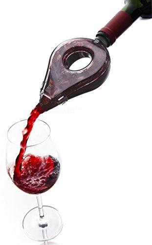 Vacu Vin 1854660 Wine Aerator 1 EA Dark Grey