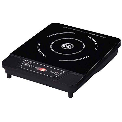 Safeplus Single Electric Cooker 1800W Portable Induction Cooktop Countertop Burner Black