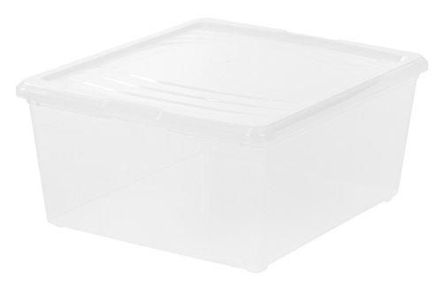 Plastic Storage Container- 21 Quart