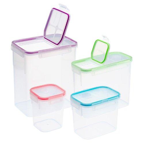 Snapware 8-Piece Airtight Food Storage Set Plastic